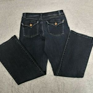 INC Denim Boot Cut Dark Wash Jeans Size 8
